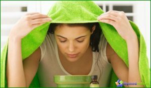 inhalation during cough